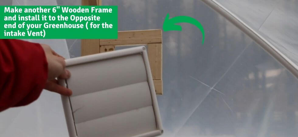 conecting a window on the back end of the frame