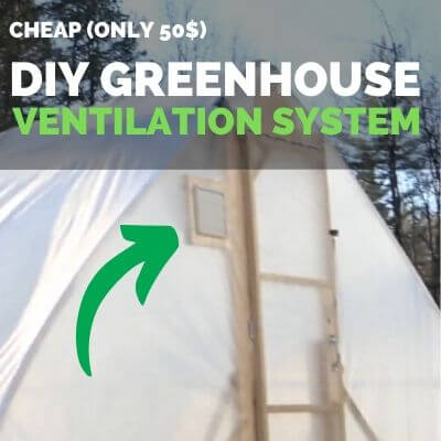 diy greenhouse ventilation system featured image